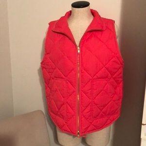 J. Crew Factory puffer vest